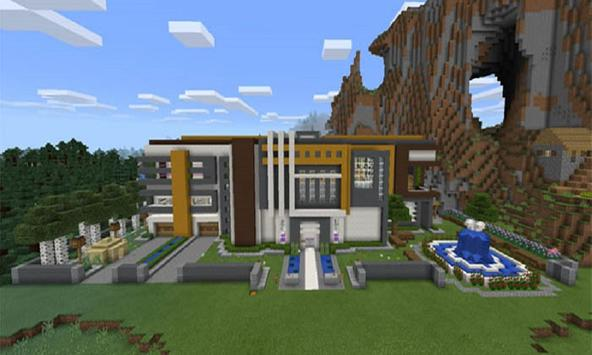 Mod Super Mansion for MCPE poster