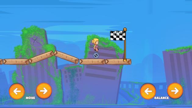 Hoverboard Rider Skaty Girl apk screenshot