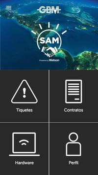 GBM SAM screenshot 1