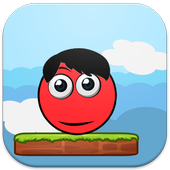 Bounce Red Ball Jumper icon