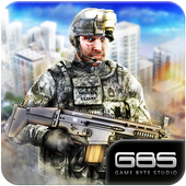 US Sniper Shooter 3d Game 2018 : American Military icon