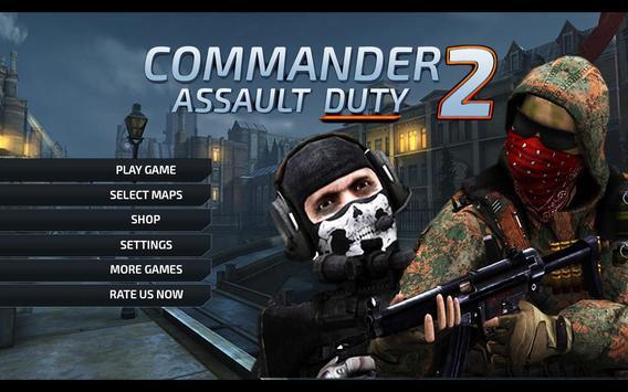 Commander Assualt Duty 2 poster
