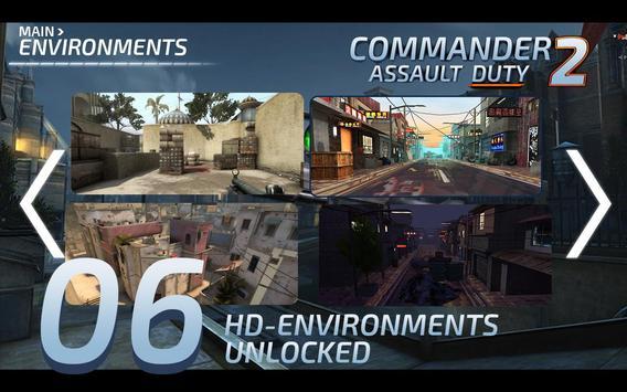 Commander Assualt Duty 2 apk screenshot