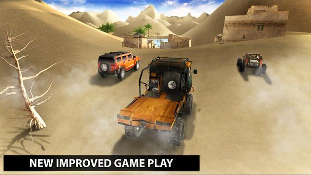 Safari Jeep Rally Desert Racing apk screenshot