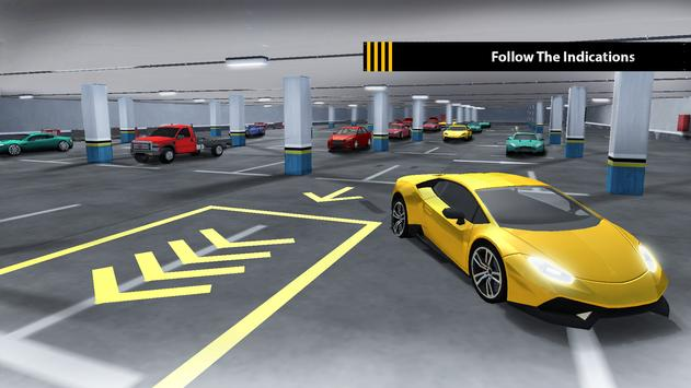 Luxury Car Valet Parking Games apk screenshot