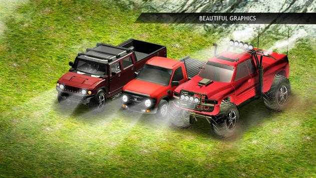 Police Jeep Wrangler: Offroad Hill Climb Mountain poster