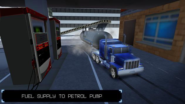 Oil Tanker Transport 2018 apk screenshot