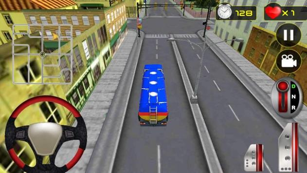 Real Oil Truck Driving 3D screenshot 1
