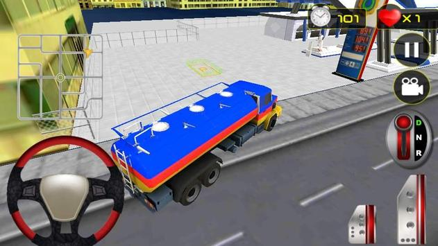 Real Oil Truck Driving 3D screenshot 2