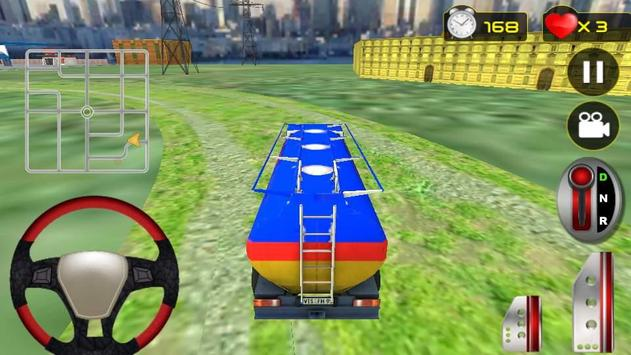 Real Oil Truck Driving 3D screenshot 3