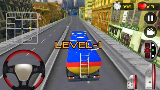 Real Oil Truck Driving 3D screenshot 4
