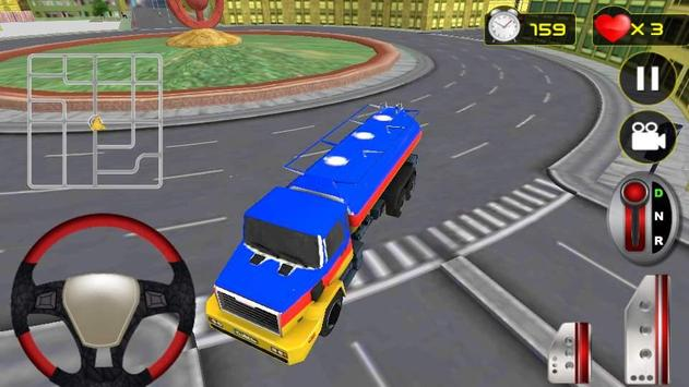 Real Oil Truck Driving 3D screenshot 5