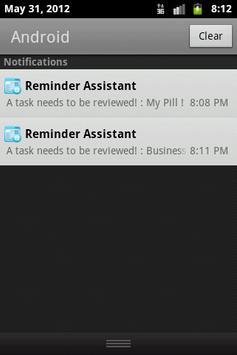 Reminder Assitant Free screenshot 6