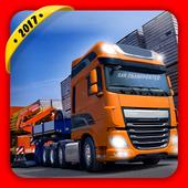 Car Transporter Truck icon