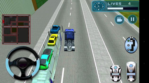Car Transporter Truck apk screenshot