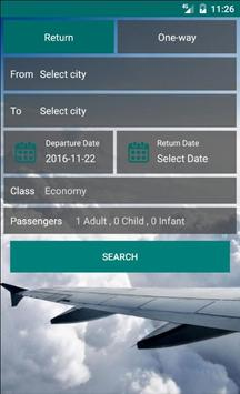 Cheap Flights Scanner poster