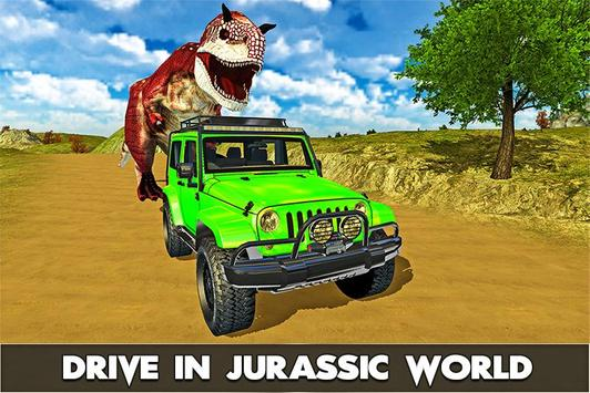 4x4 Racing Sim: Dino World poster