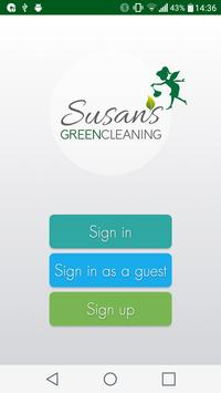 Susan's Green Cleaning पोस्टर