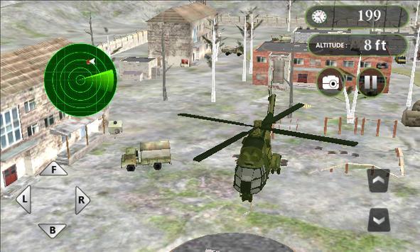 Real Helicopter Simulator screenshot 7