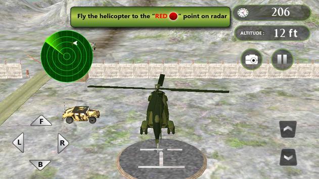 Real Helicopter Simulator screenshot 8