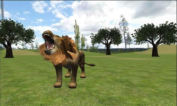 Real Lion Simulator poster
