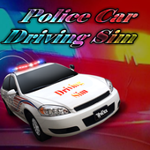 Police Car Driving Sim icon