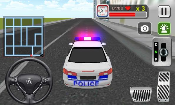 Police Car Driving Sim poster