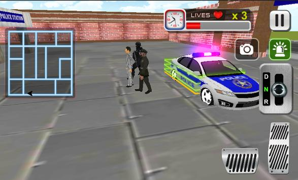 Police Car Driving Sim screenshot 6