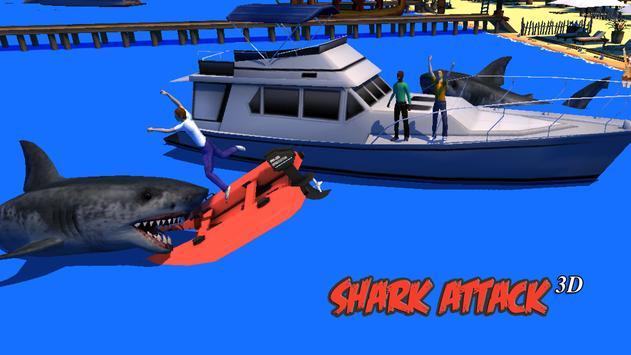 Shark Attack 3D Simulator poster