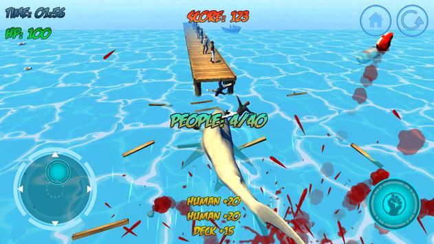 Shark Attack 3D Simulator screenshot 12