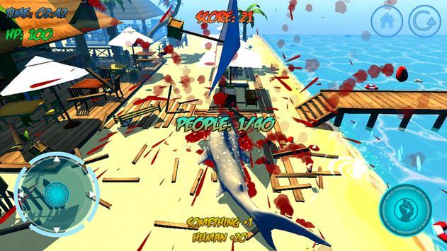 Shark Attack 3D Simulator screenshot 16