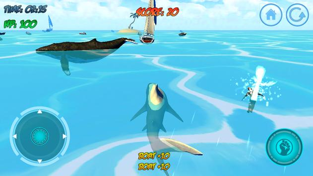 Shark Attack 3D Simulator screenshot 19