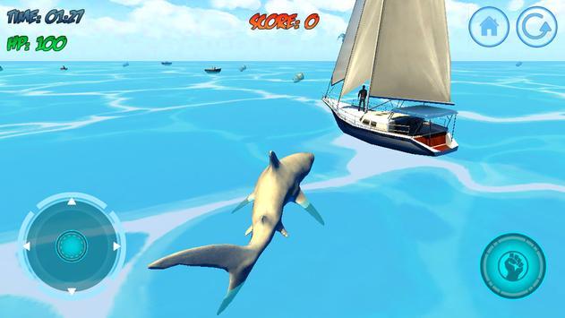 Shark Attack 3D Simulator screenshot 20
