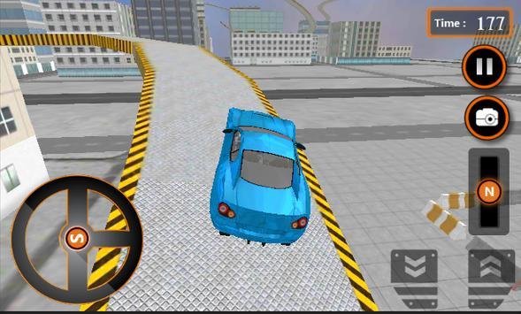 Crazy Car Roof Jumping 3D apk screenshot