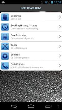Gold Coast Cabs screenshot 1