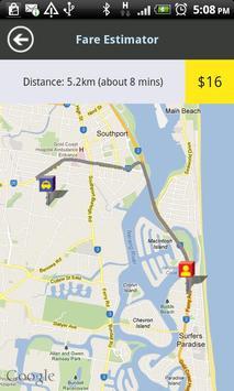 Gold Coast Cabs screenshot 2