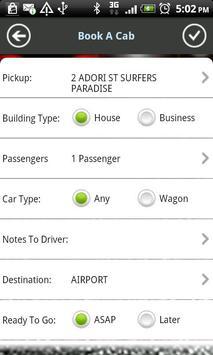 Gold Coast Cabs screenshot 3