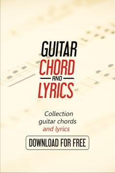Guitar Chords of Artic Monkeys poster
