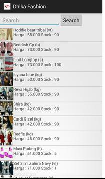 Dhika Fashion apk screenshot