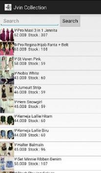 Jvin Fashion Tanah Abang apk screenshot