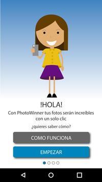 PhotoWinner, mejora tu foto en un solo clic poster