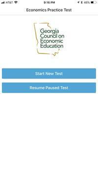GCEE Economics Test Prep poster