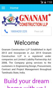 G Construction poster