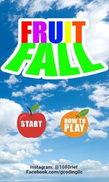 FRUIT FALL poster