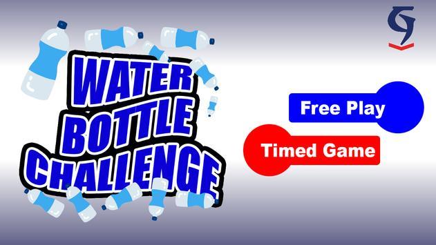 WATER BOTTLE CHALLENGE poster