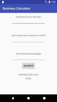 Business Calculator screenshot 1