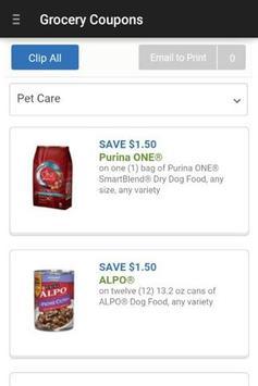 Grocery Coupons - Clip + Save apk screenshot