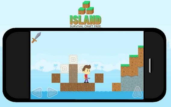 Island Survival Craft FREE poster
