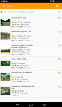 Golf Alerts screenshot 4
