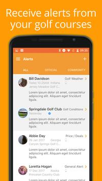 Golf Alerts screenshot 3